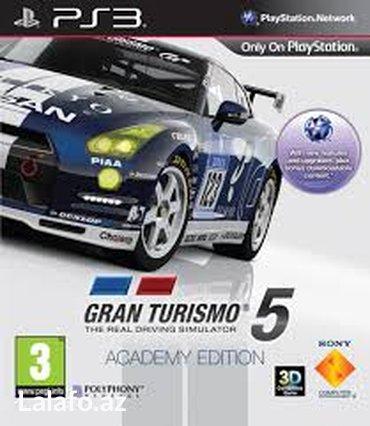 """Bakı şəhərində """"Gran turismo 5"""" PS3 oyunu"""