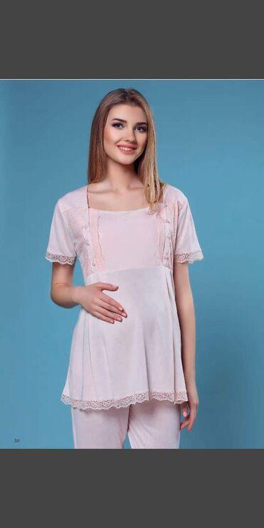 Пижамы и сорочки для беременных и кормящих. Турция