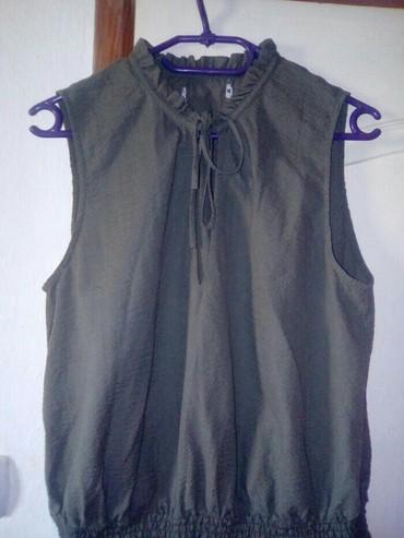 """Haljine - Vranje: """"HM"""" maslinasta haljina 38, 40. prelepa u stanju kao tek kupljena"""