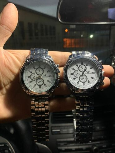 Мужские часы Качество отличное!Карцовый механизм Новые металлический