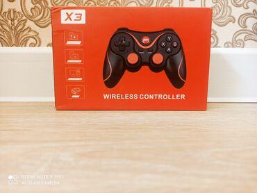 Продаю геймпад X3 беспроводной и в отличном состоянии коробка и