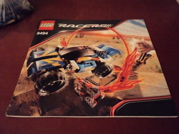 Lego 8150 Racers Ring of Fire Used 99% complete with original σε North & East Suburbs