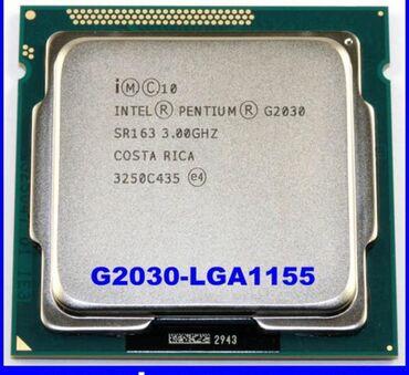 Электроника - Бактуу-Долоноту: Процессор pentium G2030 LGA1155 2 ядра рабочий, продаю в связи с