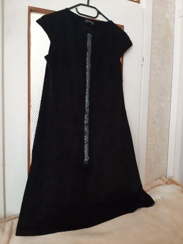 Ženska odeća | Crvenka: Crna svečana haljina. Broj 42. Potpuno ocuvana kao nova!