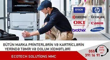 sabirabadda ev alqi satqisi - Azərbaycan: Təmir | Printerlər, ofis texnikası | Zəmanətlə
