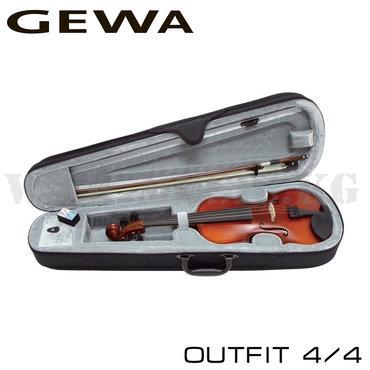 Скрипки - Кыргызстан: Скрипка GEWA Outfit – полный комплект для начинающих и студентов