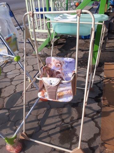 Детские качели от 1 до 3лет пр Россия есть доставка по городу в Лебединовка