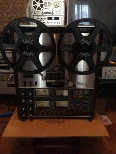 Электроника - Кыргызстан: Продаю Винтажный катушечный магнитофон Teac A3340S,состояние супер