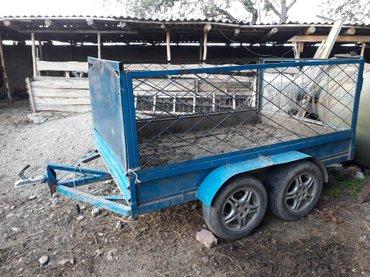 Продаю прицеп самодельный 2-х осный в Сокулук