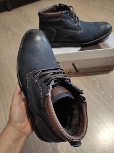 Качественная зимняя мужская обувь из Турции. 100 %натуральная кожа