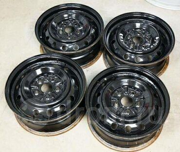 железные диски на 15 в Кыргызстан: Продаю срочно штампы Мерседес R 15 железные диски.Токмок