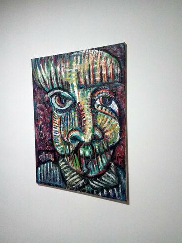 Haljina-ruze - Srbija: Ulje na platnu. 'Face', 80x60cm. Moj rad(Filip Jovanovic). Pogledajte