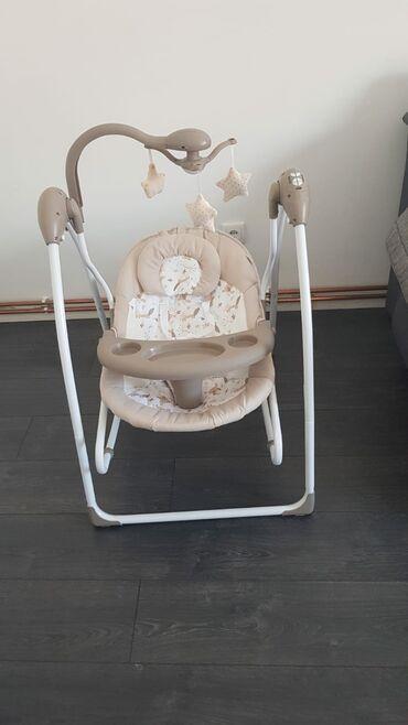 Ljuljaska za bebe - Srbija: Elektricna ljuljaska brenda Jungle za bebe koriscena svega par puta