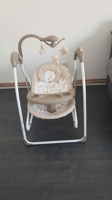 Posluzavnik - Srbija: Elektricna ljuljaska brenda Jungle za bebe koriscena svega par puta