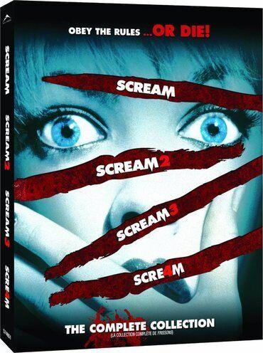 Vrisak (Scream) - paket svih filmova, sa prevodomCena celog paketa je