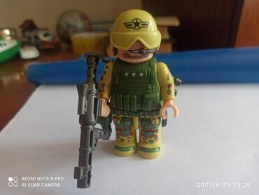 Детский мир - Орловка: Солдат Америки Лего много оружия