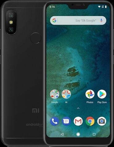 square box xiaomi в Кыргызстан: Б/у Xiaomi Mi A2 Lite 64 ГБ Черный