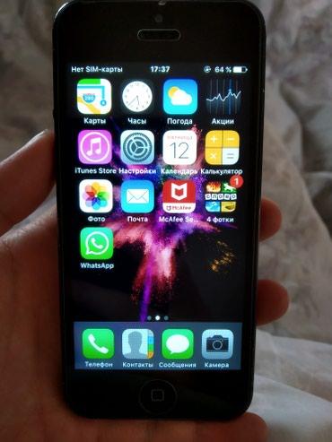 Продаю айфон 5g space grey 16gb в Бишкек
