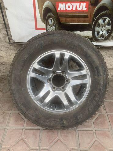 Запаска R17 С новой резиной 265/65/17 Bridgestone H/T Диск Toyota. Mad