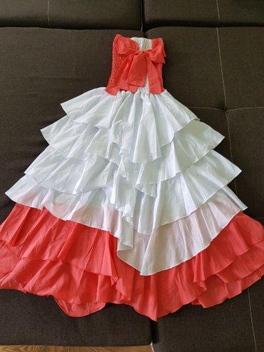 Новое шикарное платье,размер подходит от 42-46,тянется топ на резинке в Лебединовка