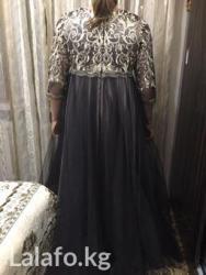 Шикарное вечернее платье 50размер,в отличном состоянии в Лебединовка