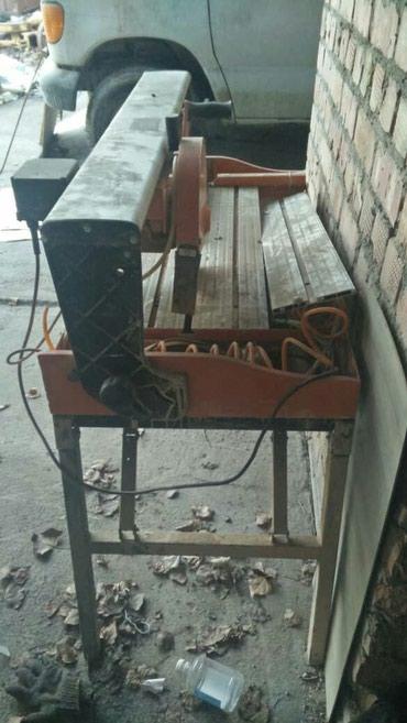 Продаю станок для резки камня, работал всего 3 дня. в Бишкек