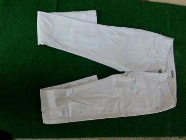 Bele-siroke-pantalone - Srbija: Letnje bele pantalone vek 28