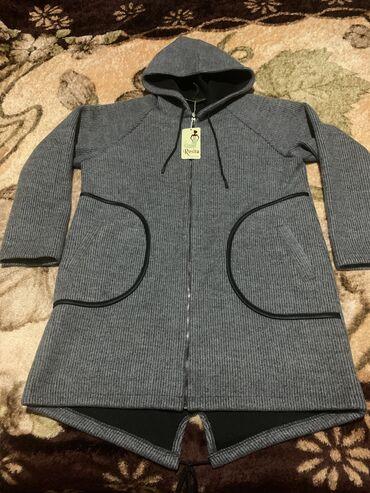 Куртка женская удлиненная, новая с этикеткой, осенне- весенняя с