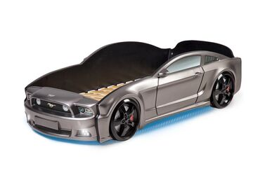 Детская кровать-машина Mustang 3DАвтономера, водительское