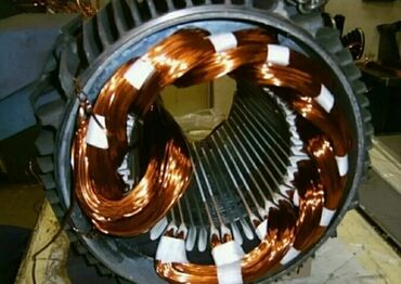 Услуги - Аламедин (ГЭС-2): Перемотка моторов