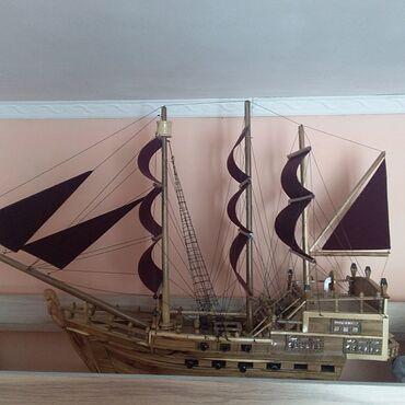 Сувенир-корабль. ручная работа