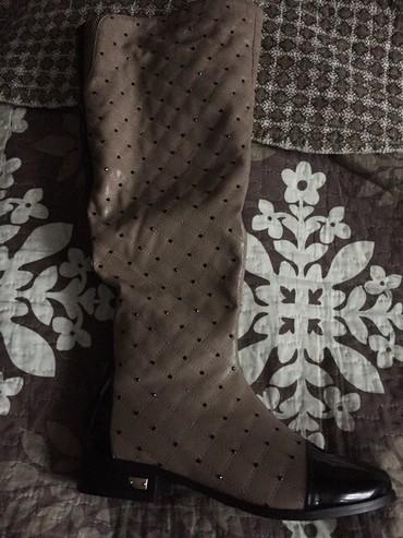 Срочно Продаю новые сапоги размер не подошел 36 размер 300 сом в Бишкек