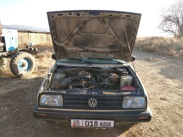 Сапог мерс - Кыргызстан: Volkswagen Jetta 1.8 л. 1988 | 88566 км