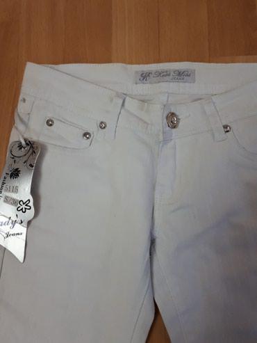 36 br.Nove farmerke bele sa etiketom Fashion jeans. - Jagodina - slika 2