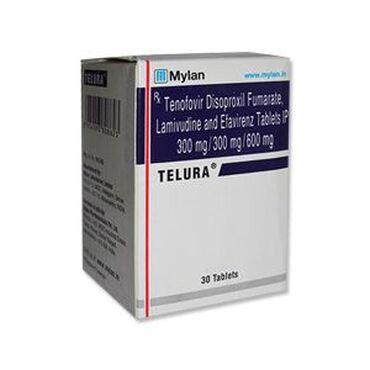 Telura tabletaNaziv marke - TeluraSastav - Efavirenz 600 mg/Lamivudine