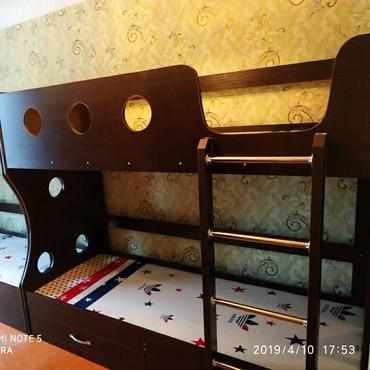 usaq ucun iki mertebeli kravat в Кыргызстан: Новый двух ярусный кровать доставка установка по городу