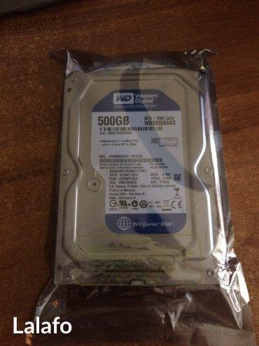 """Bakı şəhərində Teze! Hdd 3,5"""" western digital blue 500 gb- şəkil 2"""
