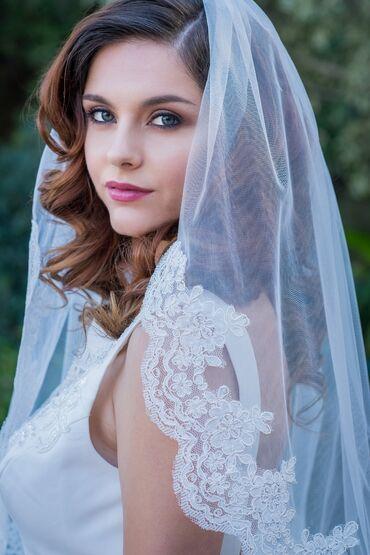 Свадебные аксессуары - Новый - Бишкек: Продаю фату