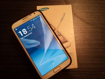 Samsung galaxy note 2 - Азербайджан: Б/у Samsung Galaxy Note 2 16 ГБ Белый