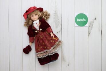 Игрушки - Украина: Фарфорова лялька    Висота: 44 см  Стан: гарний, на одному оці відсутн