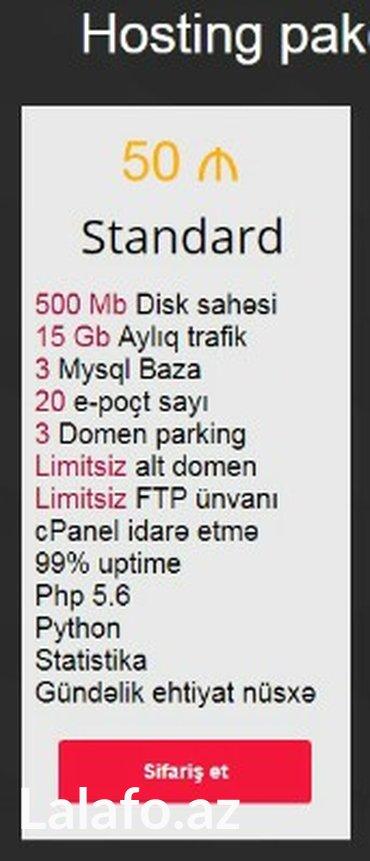 Bakı şəhərində Hostİng endİrİm kompanİyasi  ra. Host hosting xidməti,   sizlərə 365 g