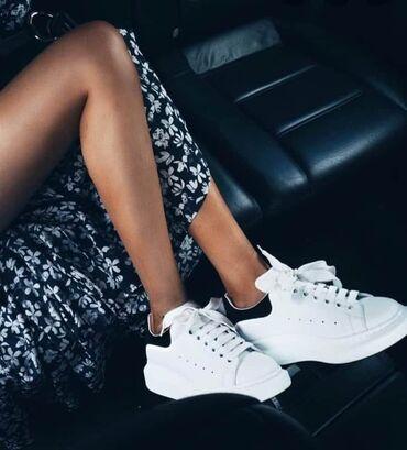 Ženska patike i atletske cipele   Surdulica: Bele Alexander Mcqueen patike ponovo na stanju u svim brojevima od 36