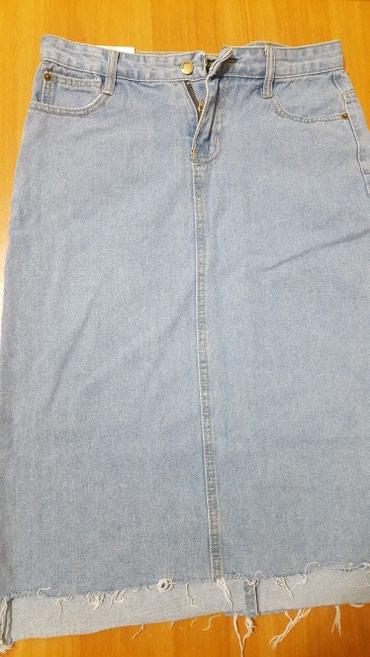 стильную джинсовую юбку в Кыргызстан: Продаю новую Юбку джинсовую. Брала на заказ. Не подошел размер. размер