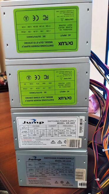 тумбочка пенал в Кыргызстан: Продаю блоки питания Jump Delux:Delux DLP-21D(250w) 400с24+4pin