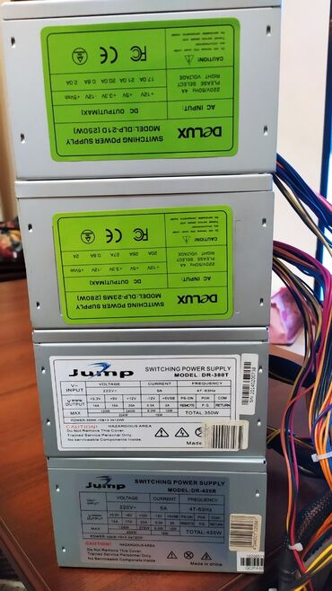 экзема бул в Кыргызстан: Продаю блоки питания Jump Delux:Delux DLP-21D(250w) 400с24+4pin