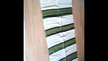 Kuća i bašta - Gornji Milanovac: Vunene rucno tkane prostirke-staze, dimenzije 190x72,dve iste, mogu od