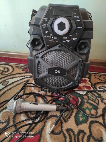 usb микрофон для студии в Кыргызстан: Продается Колонка и микрофон