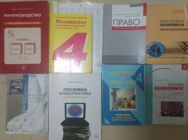 Sport i hobi - Srbija: Knjige za 4. godinu ekonomske škole
