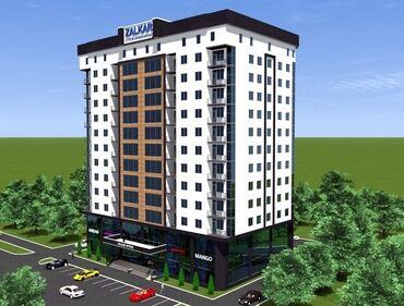 Готовые платки - Кыргызстан: Продается трёх комнатная квартира под самоотделку, на 5-ом этаже