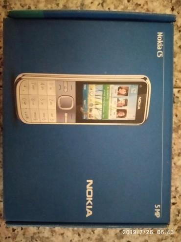 nokia c5 00 в Азербайджан: Nokia C5-00.2 karobkası satılır 1manata. Mingəçevir